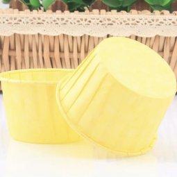Cup ly giấy tròn màu vàng 1 cây giá rẻ chỉ với 48.000 đ