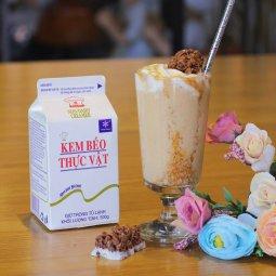 Kem béo thực vật nhất hương 500gr giá rẻ chỉ với 23.000 đ