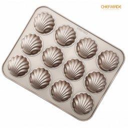 Khuôn 12 sò tròn Chefmade 9316 giá rẻ chỉ với 240.000 đ